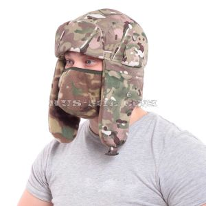 multicam military winter hat