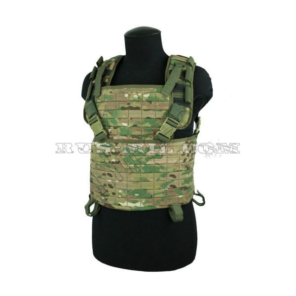 """Brest"" molle chest rig multicam"