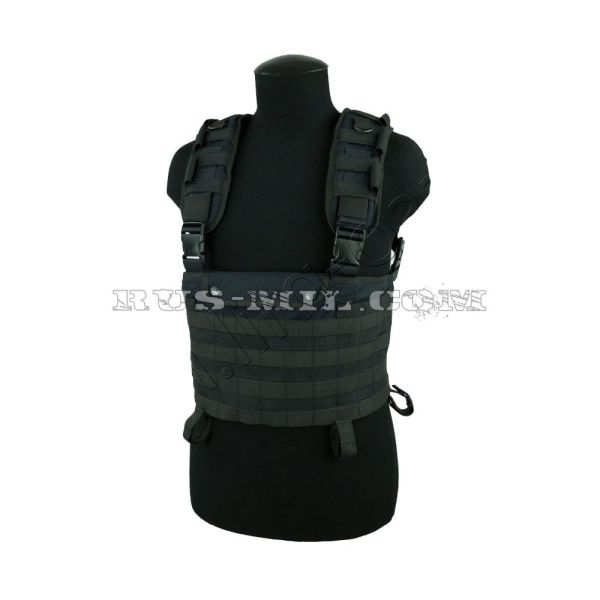 """""""Signum"""" russian tactical vest by sposn black"""