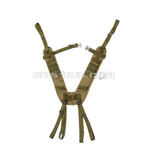 Smersh shoulder straps in olive pattern sposn