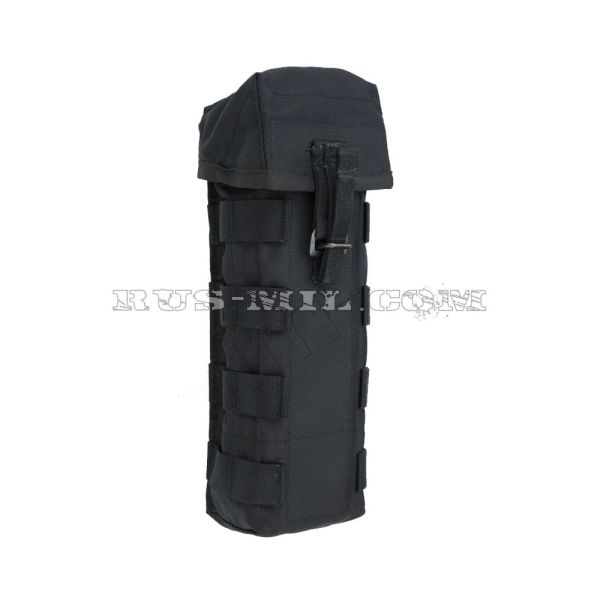 RPK 2 molle silent pouch for 2 mags black
