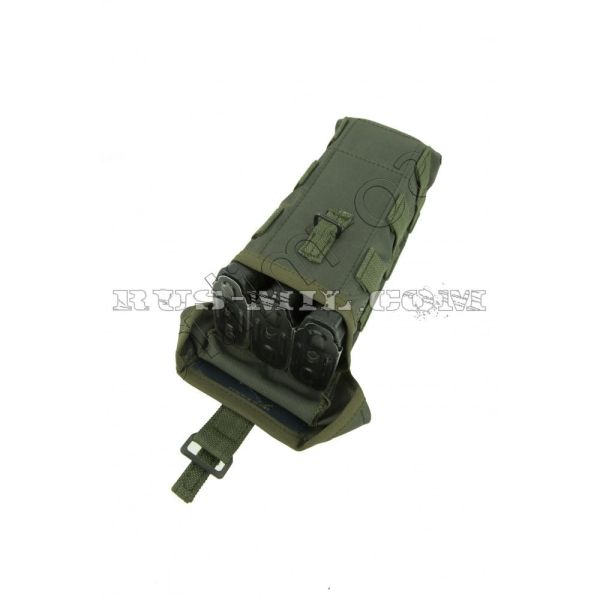 Аk 2 mag molle silent pouch olive