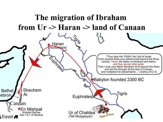 Карта странствий Ибрахима