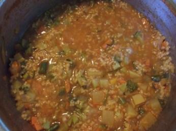 Тосканский суп с киноа