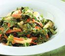Салат из китайской капусты с кремовой заправкой