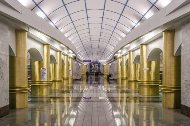 محطة مترو سان بطرسبورغ