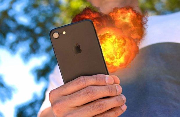 IPhone 6 взорвался в руках владельца в момент сдачи его в ремонт