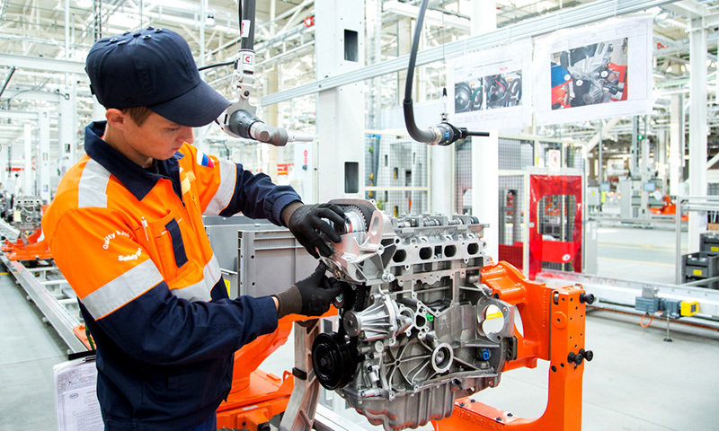 Localisation in car production - Ford Sollers Elabuga engine plant