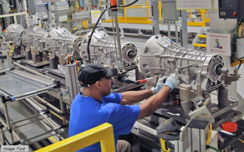 Ford - gearbox production