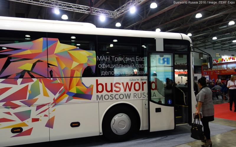 Busworld Russia Moscow 2016