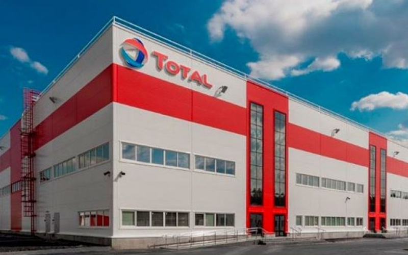 TOTAL lubricants plant in Kaluga