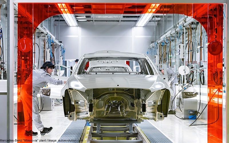 Mercedes-Benz Moscovia - vehicle production