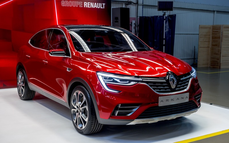 Groupe Renault - Arkana crossover