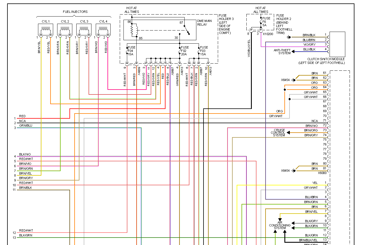 Fiat 500 Fuse Diagram On Rover Engine Cooling Diagram