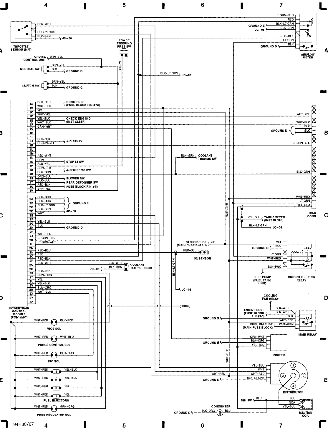 1993_protege_ecu Jeep Ecu Schematic Diagram on 1988 toyota pickup wiring diagram, ecu wiring schematic 99 hyundai elantra, ecu wiring diagram, 2003 altima ecu diagram, 2003 4runner stereo wiring diagram, ka24de wiring harness diagram, ka24e engine diagram, gm map sensor wiring diagram, napco 1000 circuit board diagram, ecu block diagram, swift 1 3 tbi ecu diagram, toyota 4runner diagram, induction diagram, ecu fuse diagram, obd2 engine harness ka24de diagram,