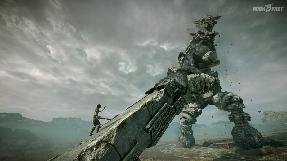 Shadow of the Colossus - dritter Koloss Taktik