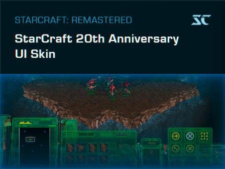 Starcraft: Remastered - Jubiläums-UI.