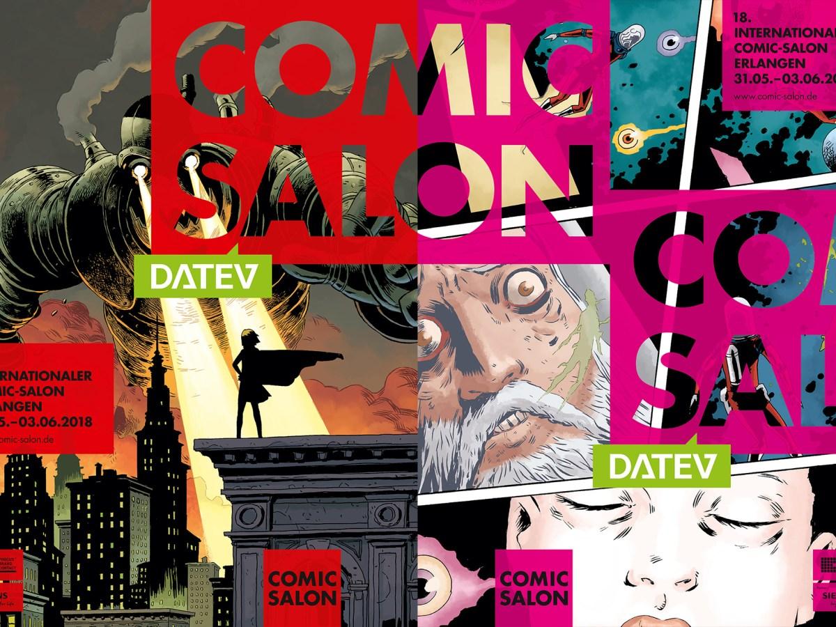 Internationaler Comic-Salon Erlangen Plakate