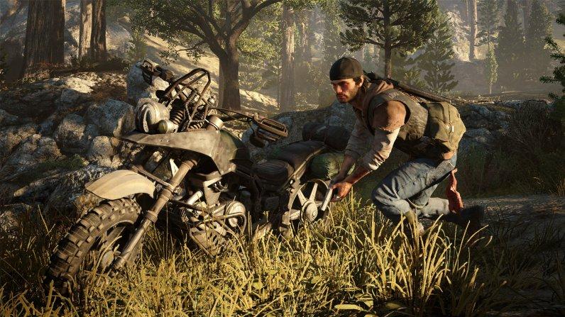 Das Motorrad ist dein bester Freund in Days Gone.