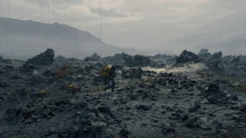 Die Landschaften in Death Stranding schauen dank der Decima-Engine super klasse aus.