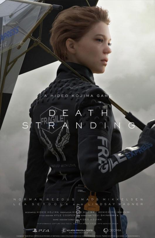 Quelle: Twitter - @HIDEO_KOJIMA_EN - Death Stranding Poster/Artwork mit Léa Seydoux