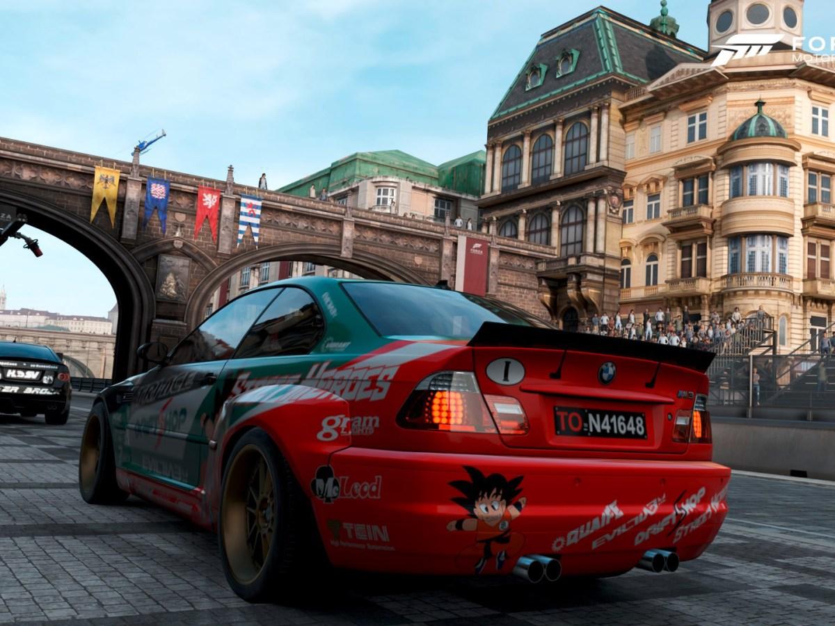 Forza Motorsport 7 - Prag Boxengasse