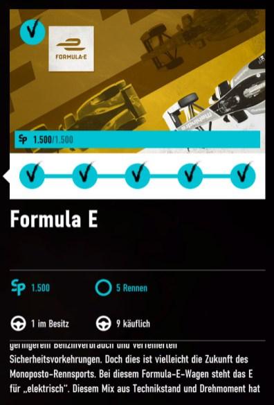 Forza Motorsport 7 - Formula E