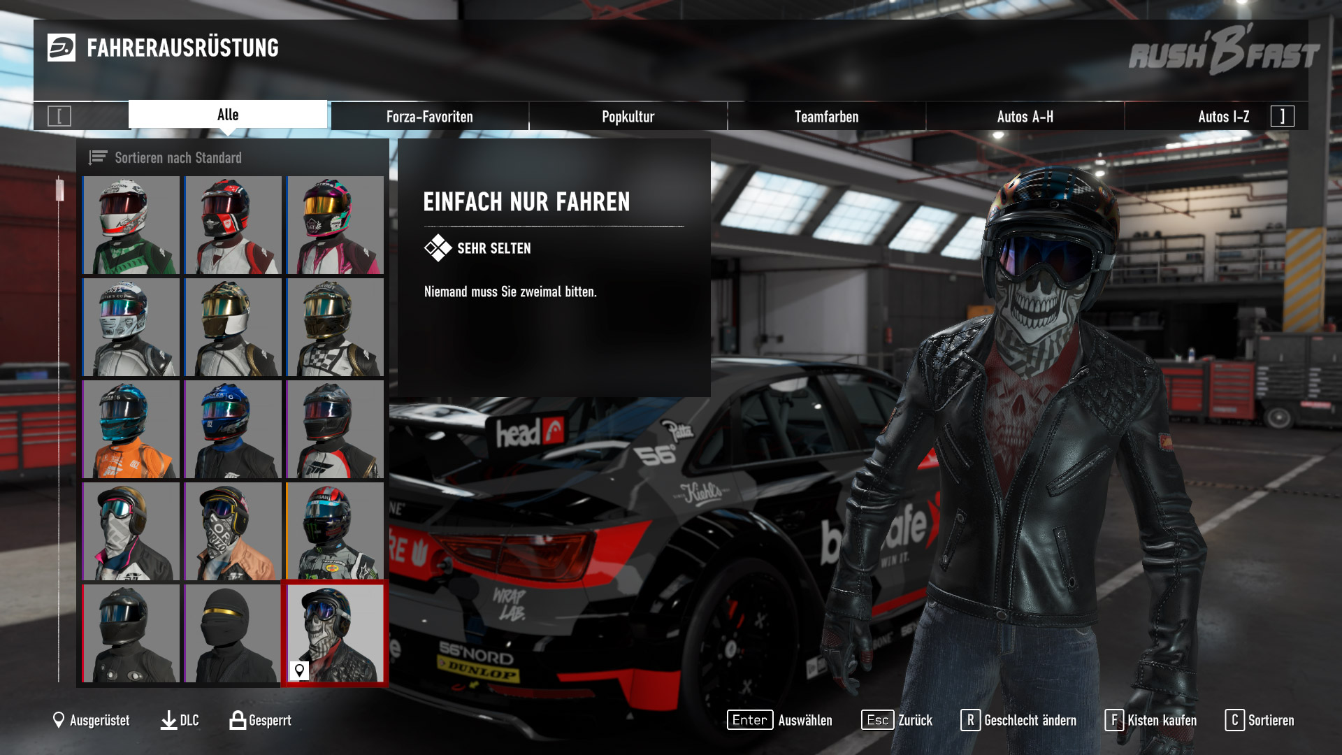 Forza Motorsport 7 - Outfit Auswahl