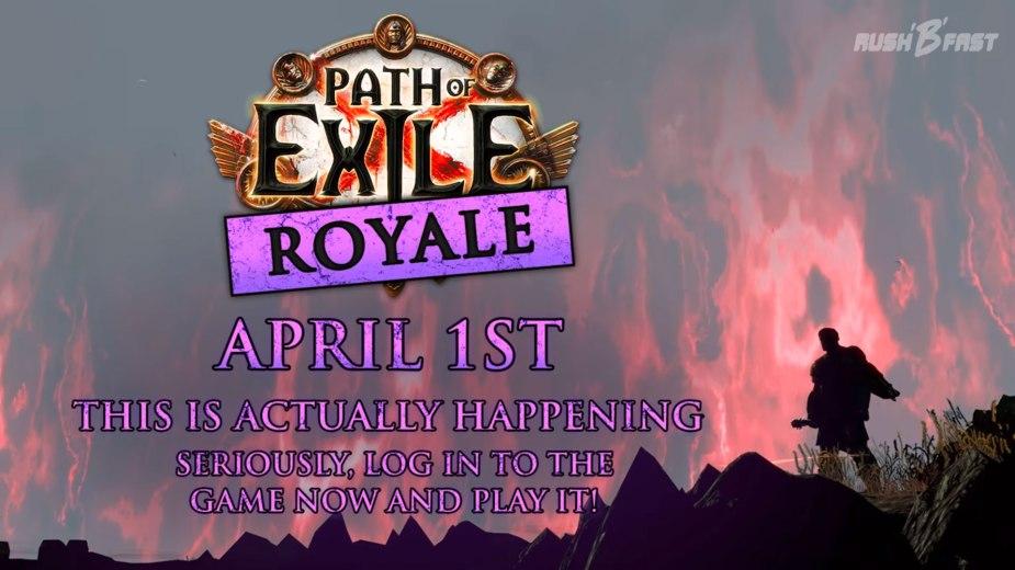 Path of Exile - Aprilscherz - Battle Royale
