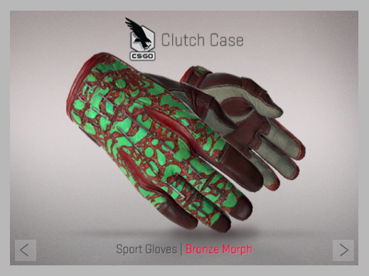 Sport Gloves | Bronze Morph
