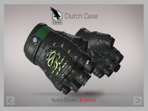 Hydra Gloves | Emerald