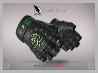 Hydra Gloves | Emerald
