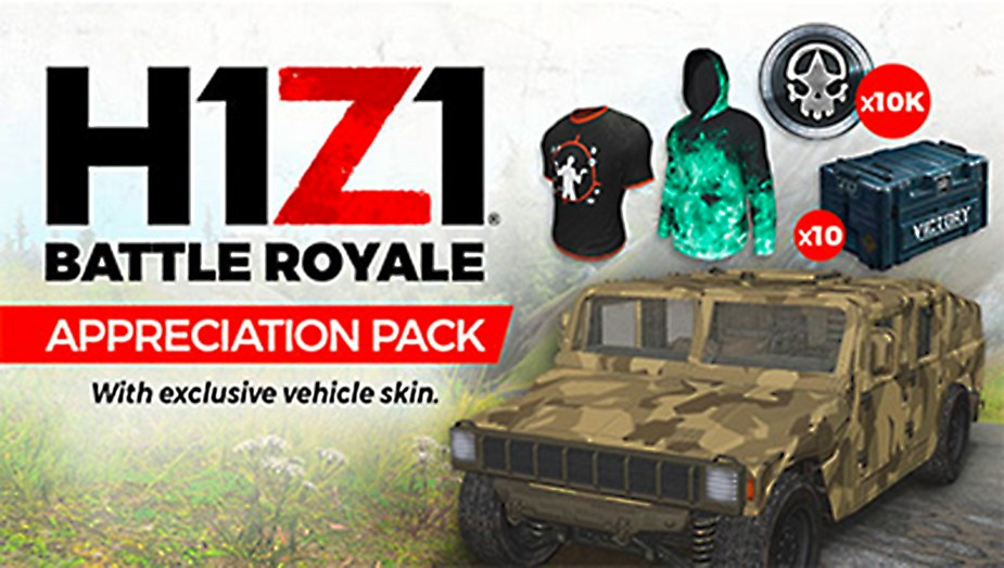 H1Z1 Appreciation Pack