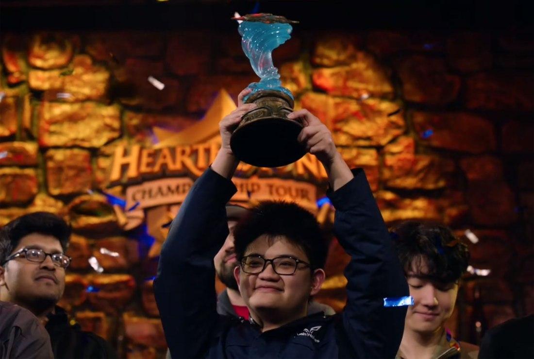 "Quelle: Blizzard - Hearthstone World Championship: ""Tom60229"" Wei Lin"
