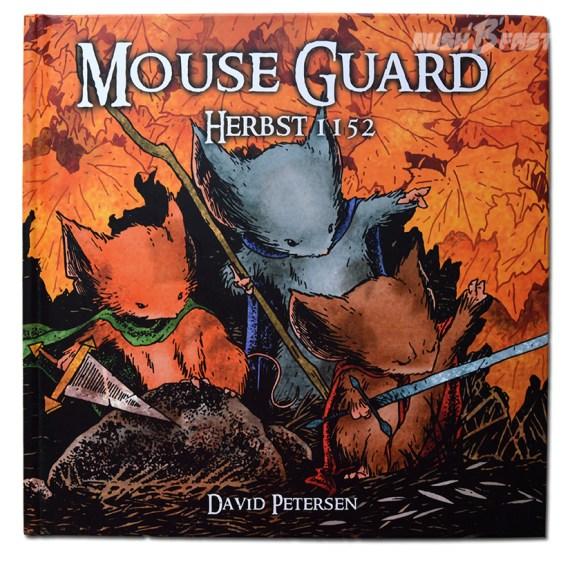 Graphic Novel - Mouse Guard 1152 (Cover)- David Petersen