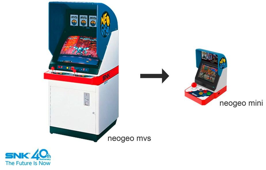 SNK: NEOGEO mini (asiatische mvs Version)
