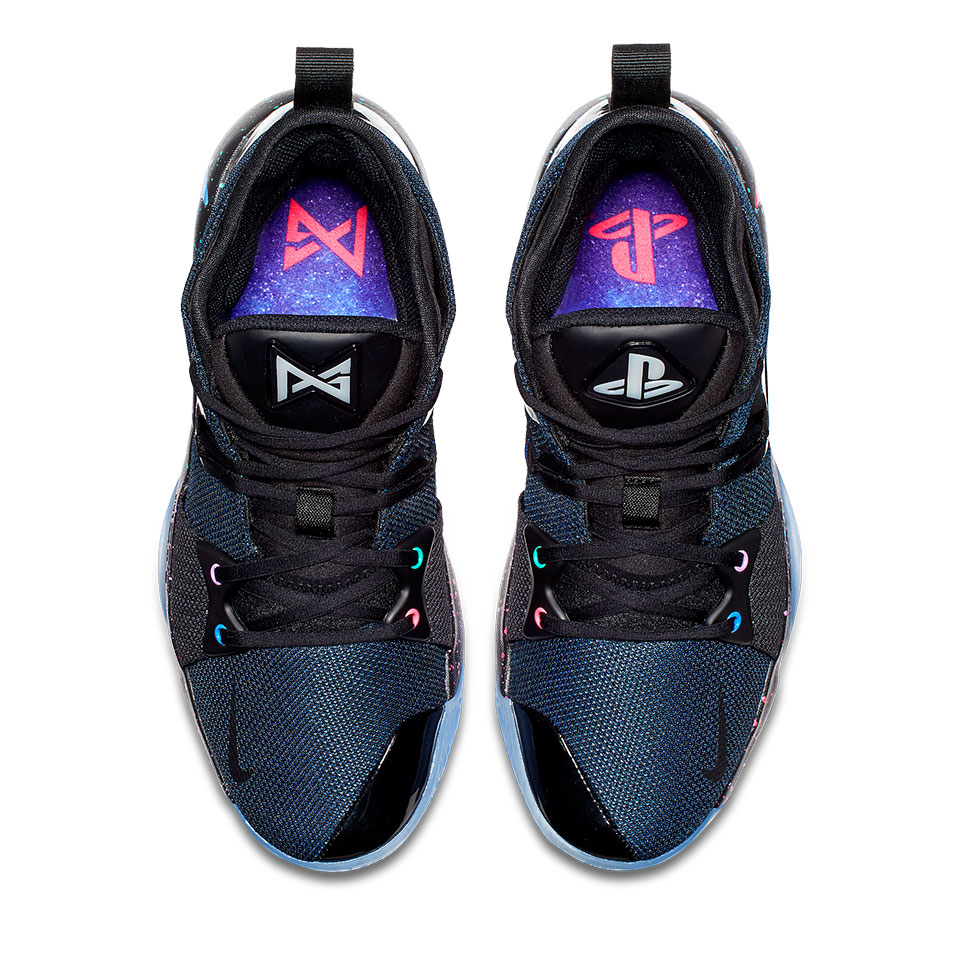 PG-2 PlayStation Colorway (Draufsicht)