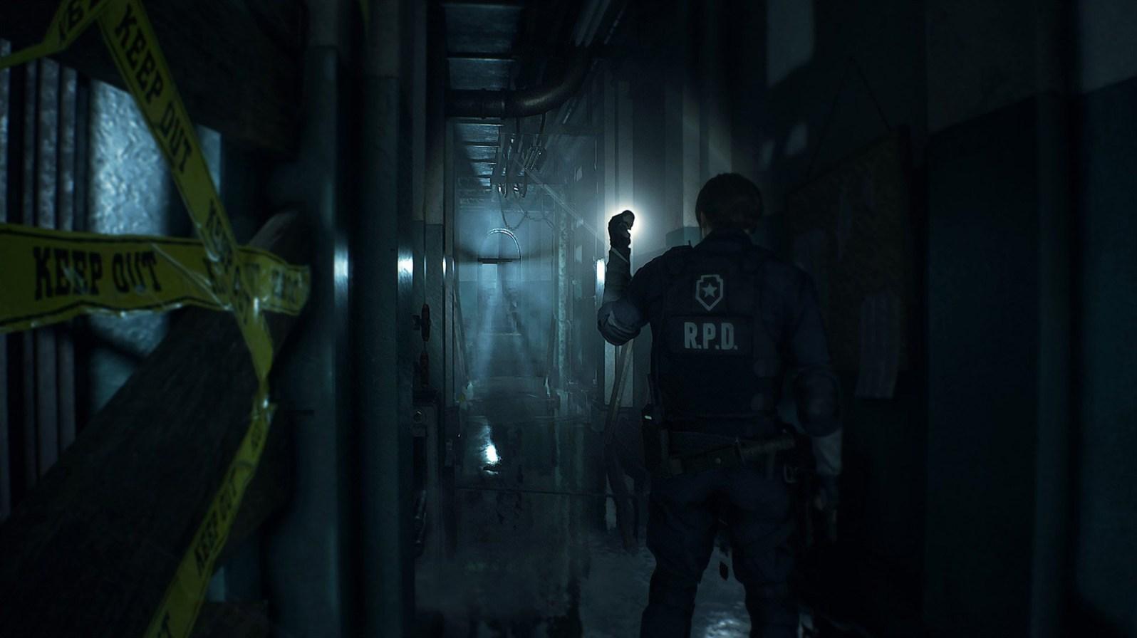 Wenn es in Resident Evil 2 zum Nahkampf kommt, schaut es meist schlecht für uns aus.