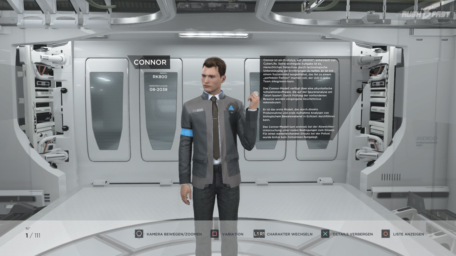 Connor - Modell: RK800