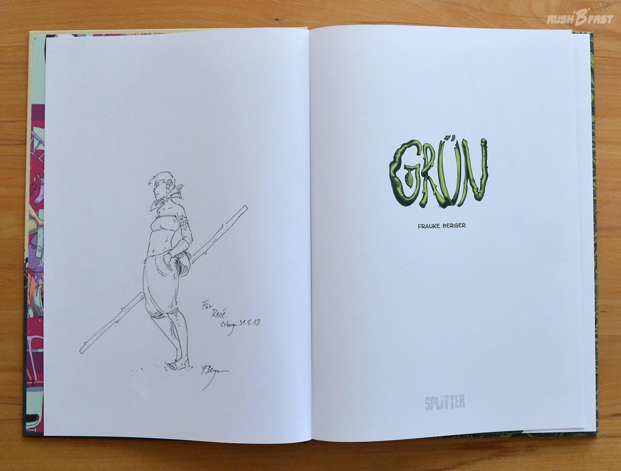 Comic Grün, Splitter Verlag