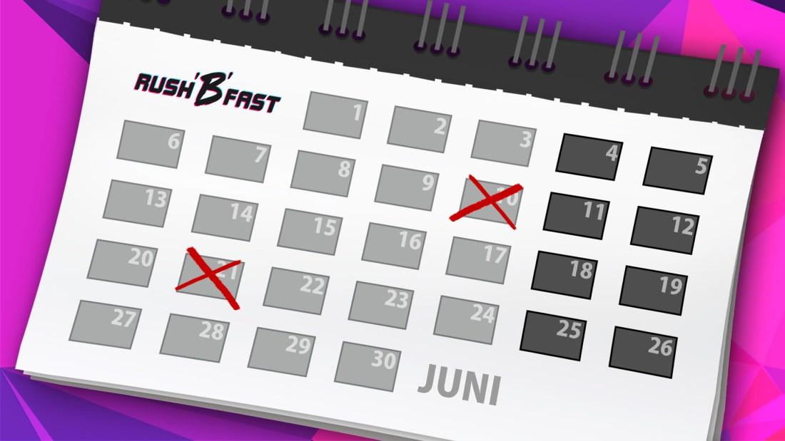 rushBfast - Kalender - juni