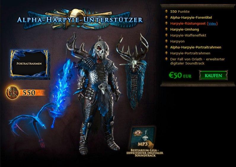 Bestiary League - Alpha-Harpyie Unterstützer