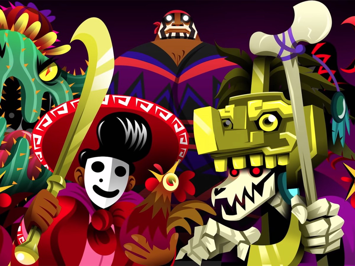 Guacamelee! 2 - Artwork