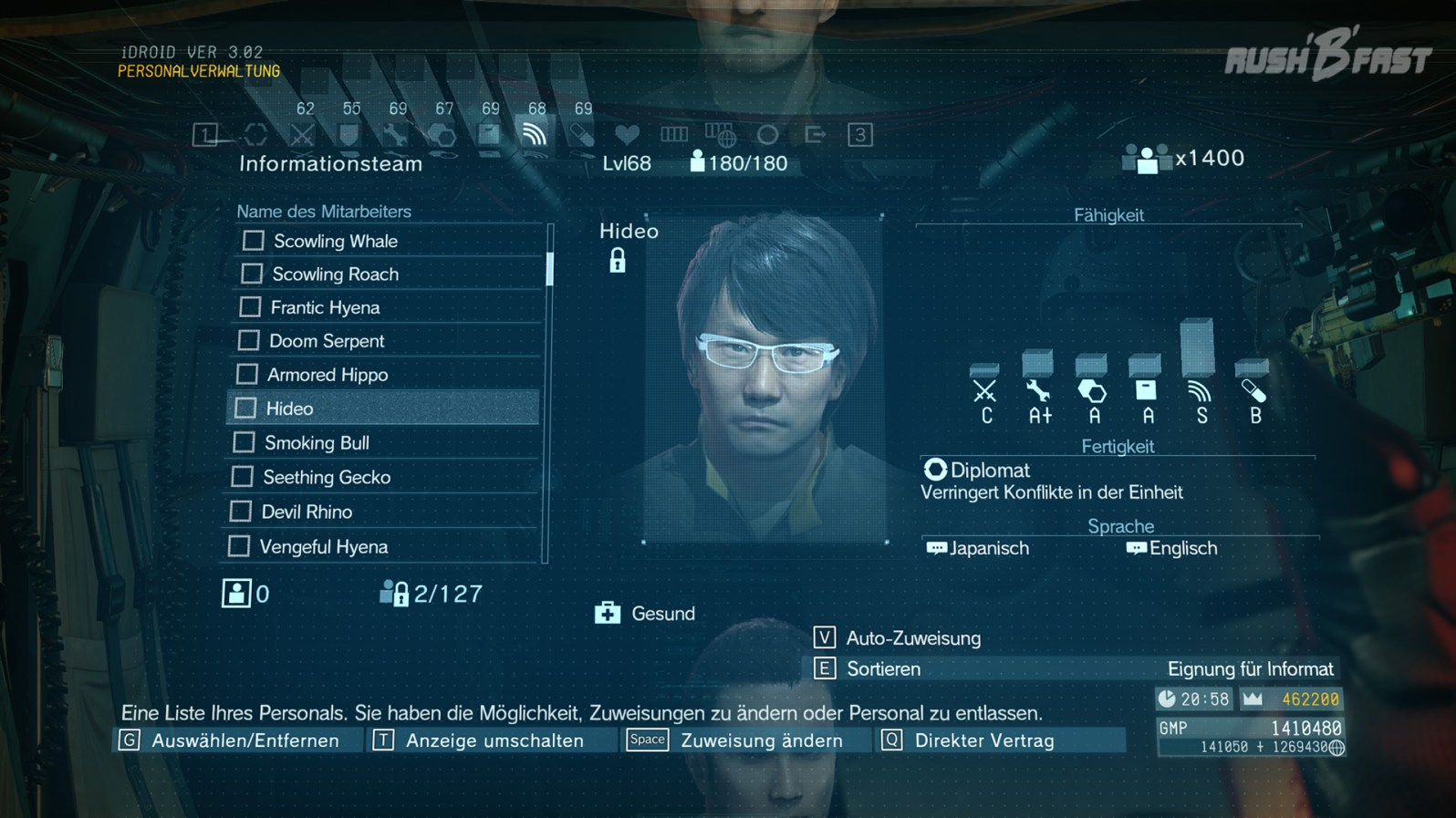 Hideo Kojima - Metal Gear Solid 5: The Phantom Pain