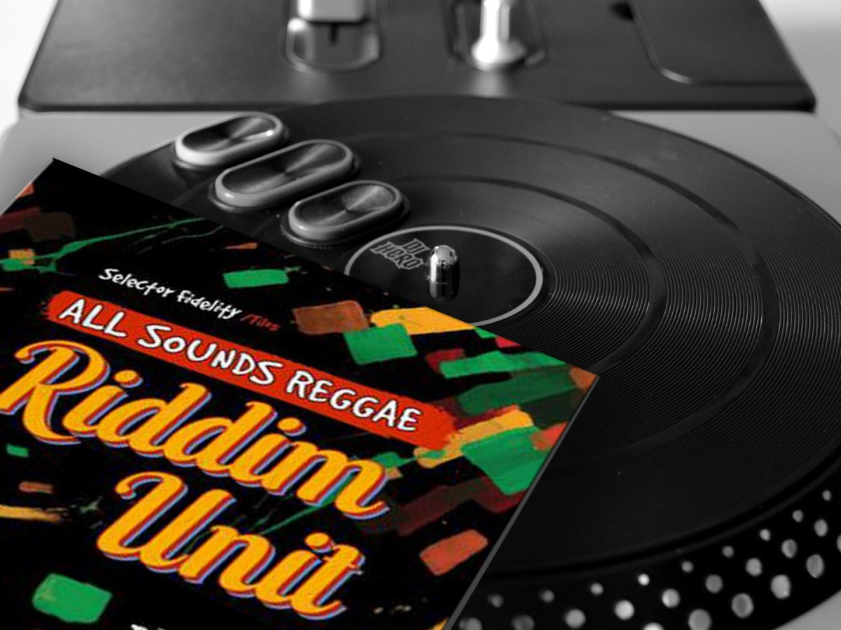 Selector Fidelity - Live at 'all sounds reggae' on
