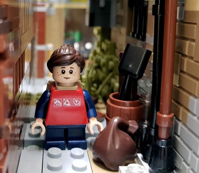 Quelle: flikr/Christophe - LEGO: The Last of Us - Ellie in Gasse