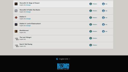 Blizzard Classic Arcade Titel
