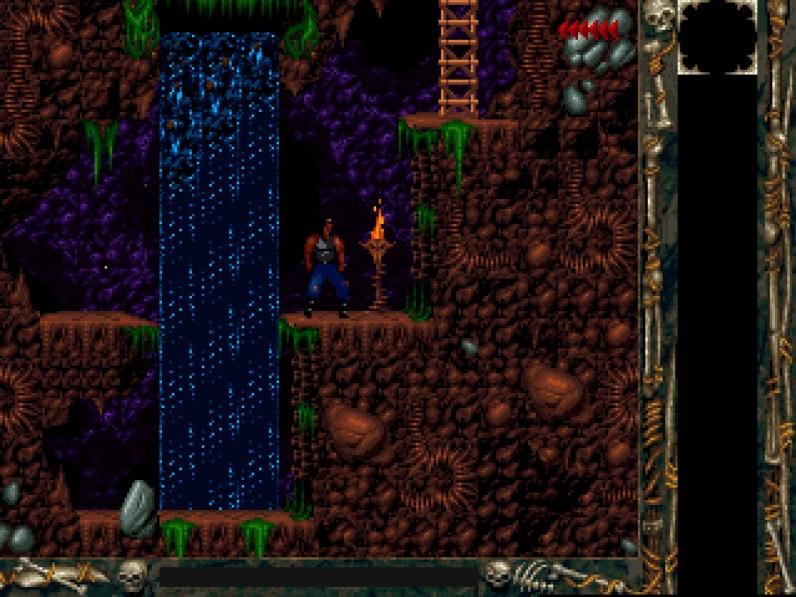 Blizzard Classic Arcade: Blackthorne - Spielbeginn