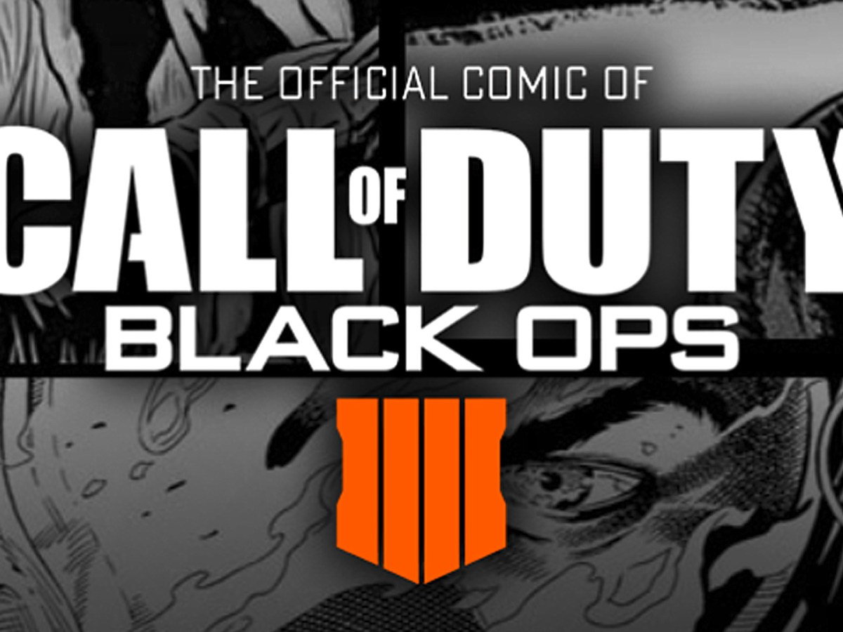 The official Comic of Call of Duty Black Ops 4
