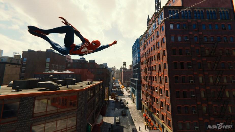 Marvel's Spider-Man - Schwungvoll durch New York! Fortbewegung hat noch nie so viel Spaß gemacht.